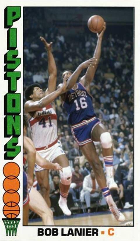 Bob Lanier Detroit Pistons