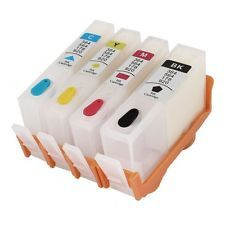 4 pack empty refillable HP 920 920XL Ink cartridge