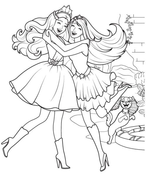 Barbie Life In The Dreamhouse Coloring Pages Coloring Pages