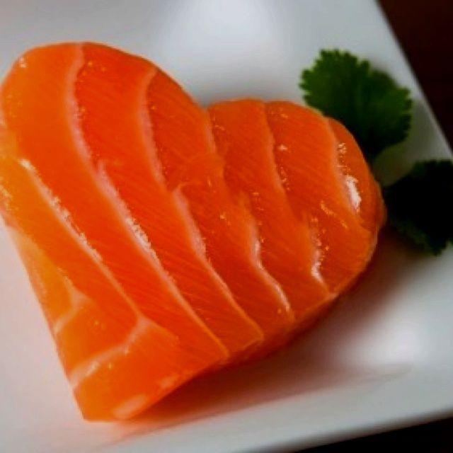 romantisch vormige Zalm : lekker en vol met goede vetten  ❤