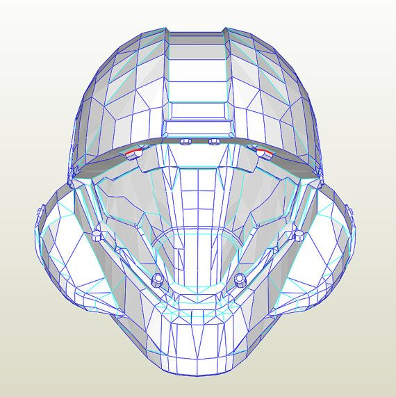 how to make a halo helmet out of foam