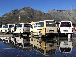 Minibus taxi cab