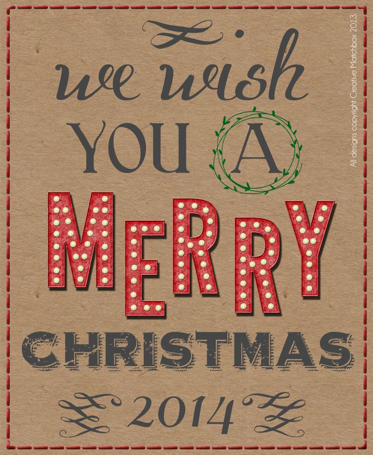 Merry Christmas 2014! - with Creative Matchbox
