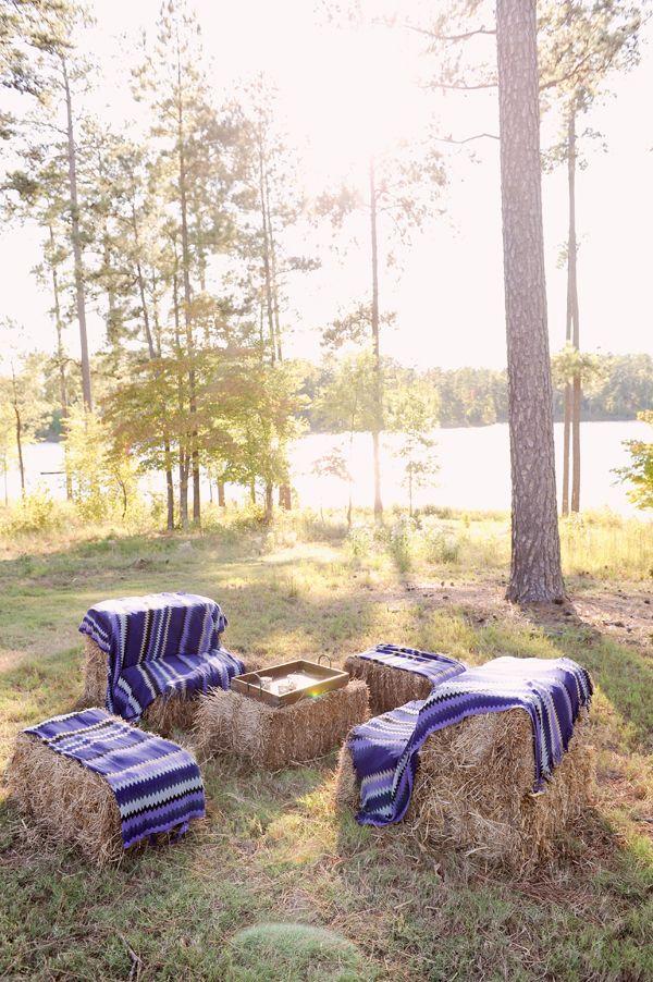 Rustic Lakeside Wedding from Something Pretty, Part II - Southern Weddings Magazine
