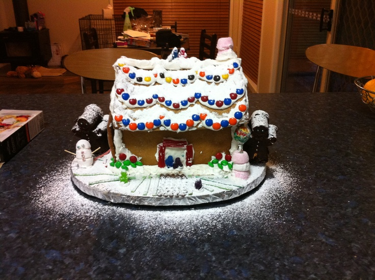 my housemate and I made this last christmas. so much fun!