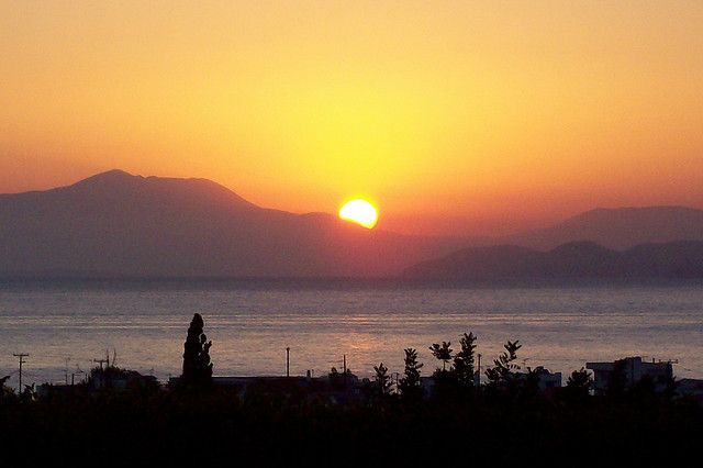 Sunrise at Kiato_ Greece