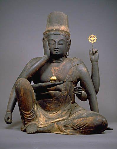 奈良国立博物館 如意輪観音坐像