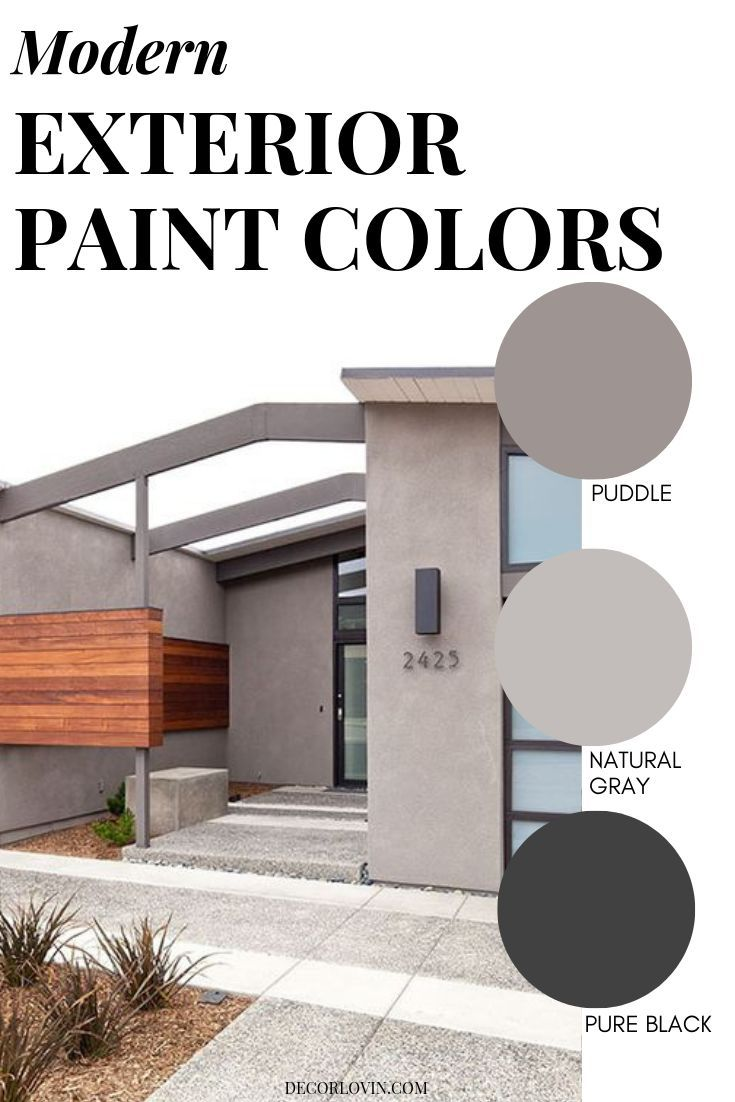Modern Exterior Paint Colors Exterior House Paint Color Combinations Contemporary House Exterior House Paint Exterior