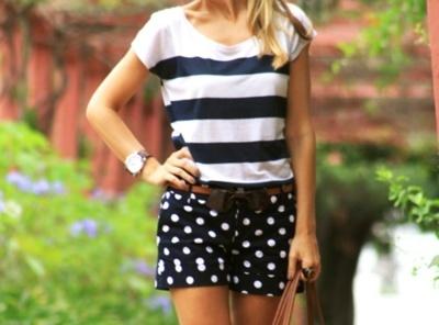 stripes & spots: Pattern Mixing, Polka Dots, Fashion, Mixing Patterns, Style, Dream Closet, Outfit, Polkadots, Stripes