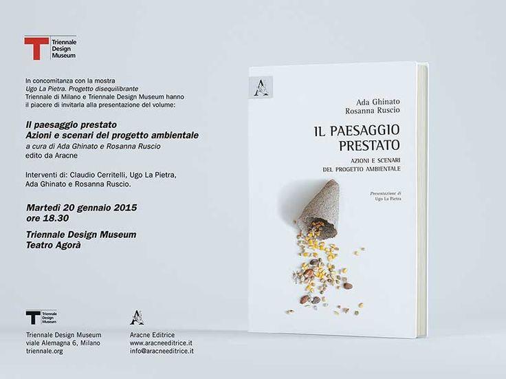 Aracne editrice - Il paesaggio prestato - Ada Ghinato e Rosanna Ruscio - Progetto in Copertina di Interno99
