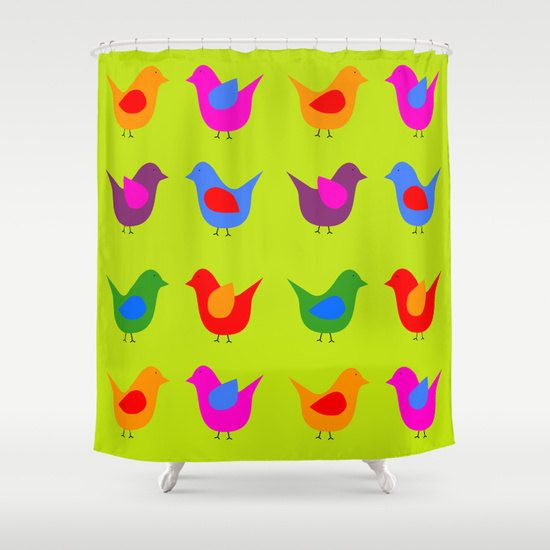 Cool shower curtain-Etsy gift-Modern by TheRedUmbrellaShop on Etsy