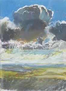 Duncan Shanks: Air Painters, Cloud Paintings, Duncanshank, Duncan Shank, Landscape Paintings, Clouds ️, Shank Paintings, Fav Paintings, Artists Painters