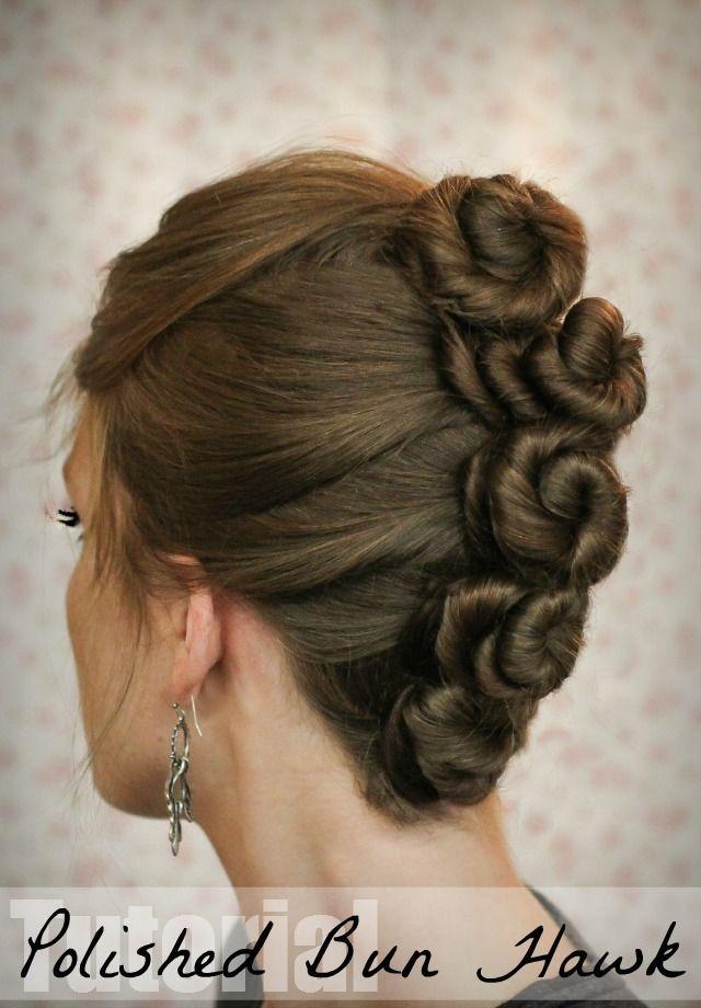 """""""Ook geschikt voor middel lang haar. (knotten zullen iets kleiner uitvallen)"""": Haarkunstenares Gyta"""