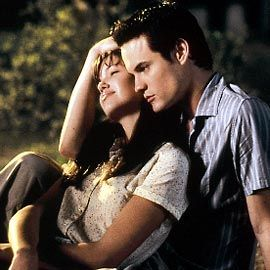 A Walk to Remember....besides The Notebook, the best movie version of a Nicolas Sparks' novel.