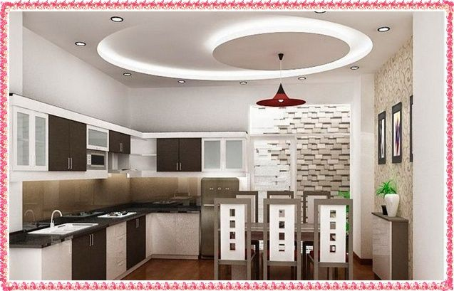 Kitchen - False Ceiling