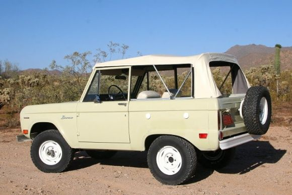 1969 Ford Bronco Survivor For Sale Rear