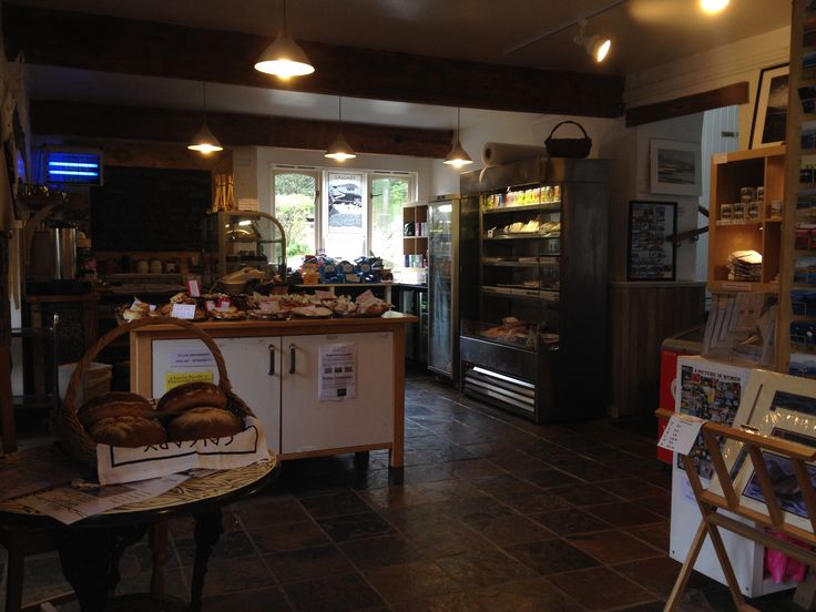 Calgary Farm Gallery & cafe. Near Calgary bay, Mull. Nice scones, muffins and shortbread! And free wifi,