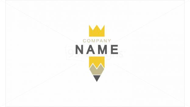 Pencil King — Ready-made Logo Designs   99designs