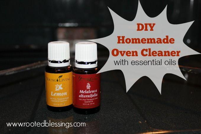 DIY Homemade Oven Cleaner | Detox Your Home Blog Series #oilyfamilies #detoxyourhome