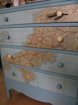 Love this up-cycled chest of drawers! Found on nicolas & steel.co.uk