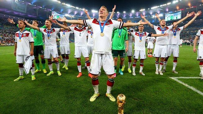 El mundo se rinde a los pies de Alemania. Campeona del #MundialBrasil2014