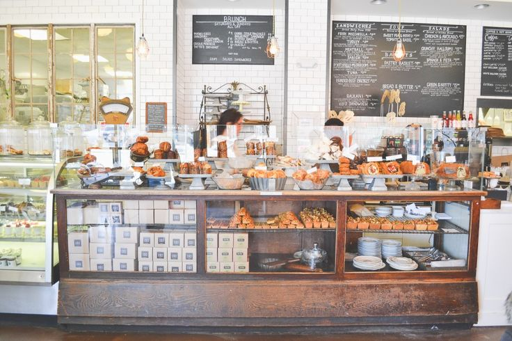 This is close to what I would like it to look like: Tatte Bakery & Cafe, Boston
