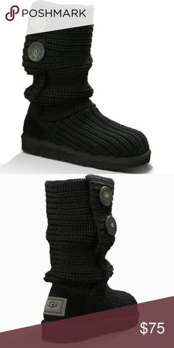 Ugg Cardi Boots Gently used with a lot of life still left in them! Size 9. UGG Shoes Winter & Rain Boots