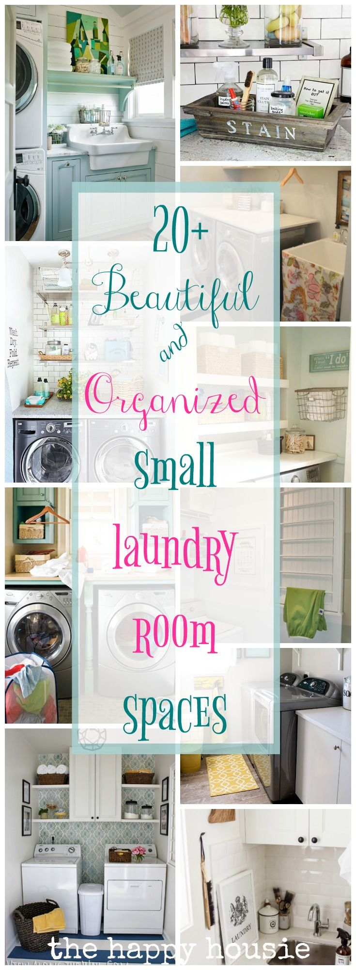 Beautifully Organized Small Laundry Rooms 287 best
