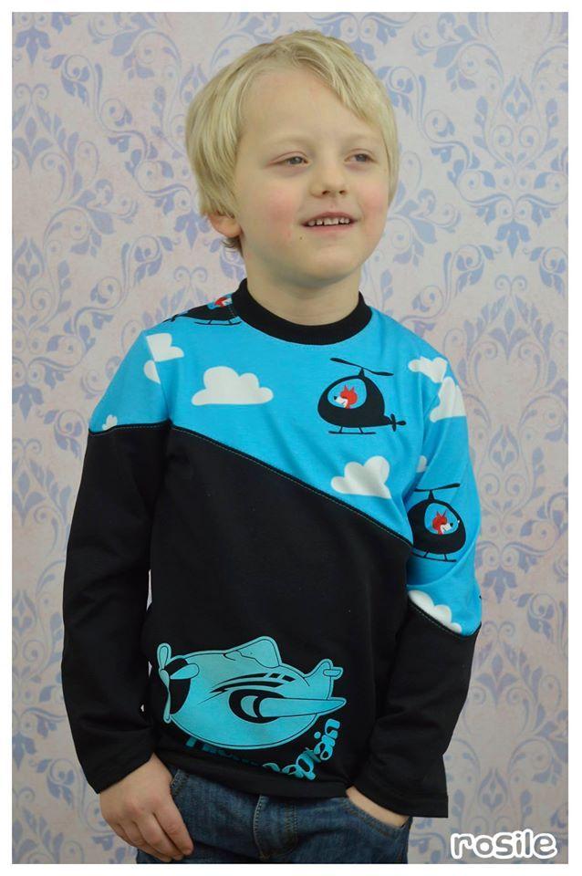 Schnittmuster cooler Sweater für Jungs