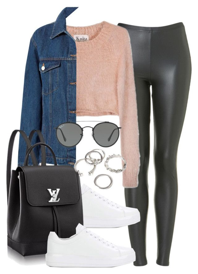 Sin título #12203 by vany-alvarado on Polyvore featuring polyvore, fashion, style, For Love & Lemons, Sans Souci, Topshop, Prada, Forever 21, Ray-Ban and clothing