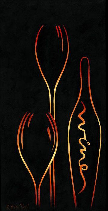 """Simply Wine!"" #elegant #wine #abstract"