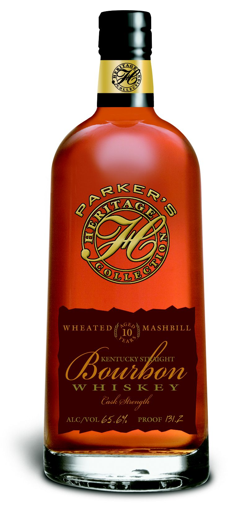 Bottle photo Wheated Bourbon Aged 10 Years, New Parker's Heritage Collection from Heaven Hill Distilleries   Happy Birthday, dear....