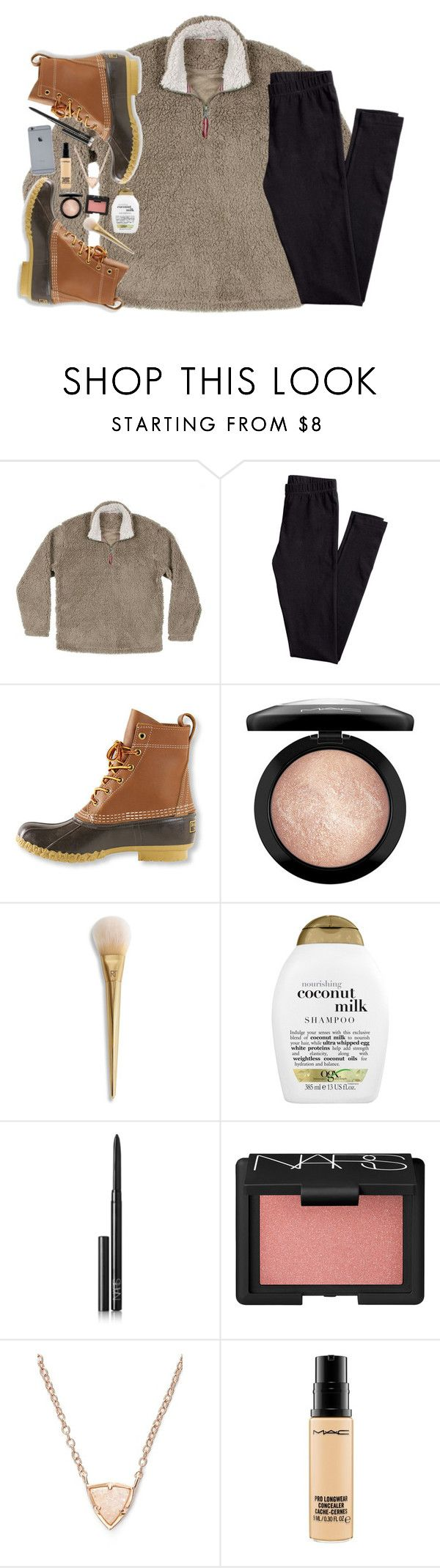 """""""weekly update in the d!"""" by lydia-hh ❤ liked on Polyvore featuring H&M, L.L.Bean, MAC Cosmetics, Organix, NARS Cosmetics and Kendra Scott"""
