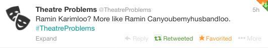 BEST TWEET EVER #RaminKarimloo