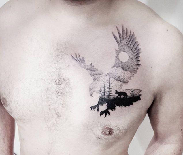 Best 25 hawk tattoo ideas on pinterest small eagle for Small eagle tattoo