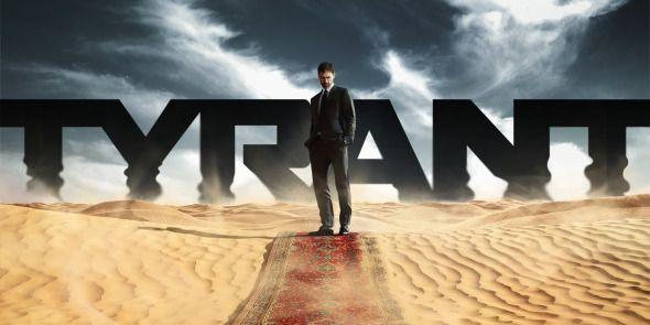 "••Tyrant•• tv series launch 2014-06-24 Fox • storyline: ""unassuming Am. family drawn into the workings of a turbulent Middle Eastern nation."" • creator: Gideon Raff • stars: Adam Rayner (UK, in Mistresses + The Saint) as Barry Al Fayeed / Moran Atias as Leila Al Fayeed / Jennifer Finnigan (Canada) as Molly Al Fayeed / Ashraf Barhom (Israel, in  The Kingdom + Agora + Clash of the Titans) as Jamal • filmed in Marrakech • off'l: http://www.fxnetworks.com/tyrant • imdb: http://iurl.no/6doka"