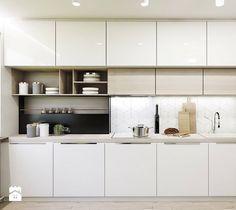 Mieszkanie w Sosnowcu - Kuchnia, styl nowoczesny - zdjęcie od FOORMA Pracownia Architektury Wnętrz