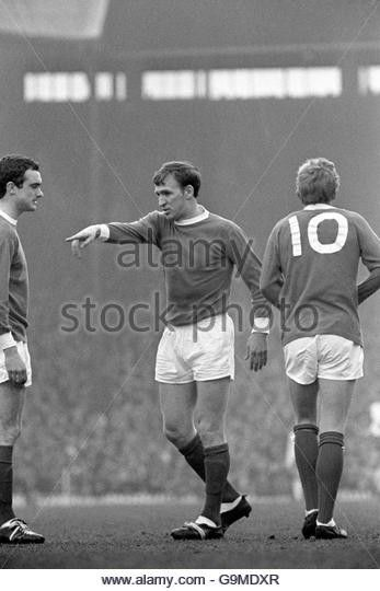 Pat Crerand, Denis Law and John Aston