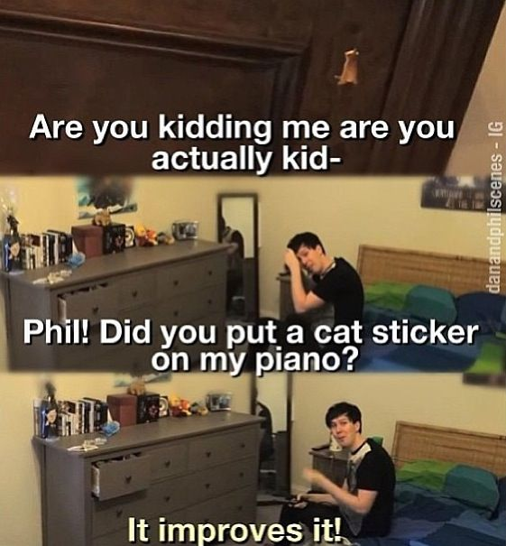 That's Phil Lester for you. xD