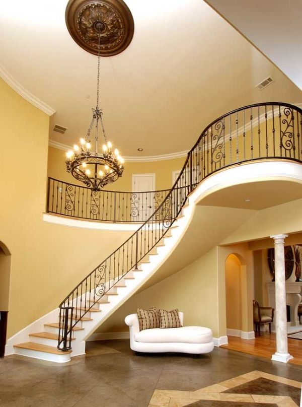 Love the dramatic staircase home inspiration pinterest for Foyer staircase ideas