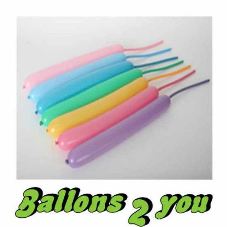 Qualatex Vibrant 260Q Modellierballons