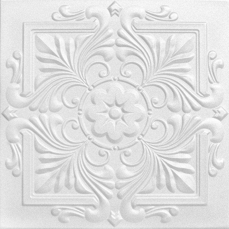 "Decorative Ceiling Tiles, Inc. Store - Victorian  - Styrofoam Ceiling Tile - 20""x20"" -"