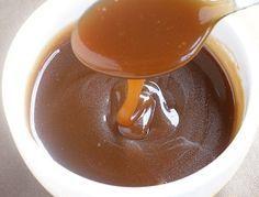 Recette de la sauce caramel au beurre salé http://www.caramelaubeurresale.net/sauce-caramel-beurre-sale/