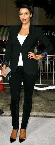 Kim Kardashian at the 'Whiteout' Premiere 2009