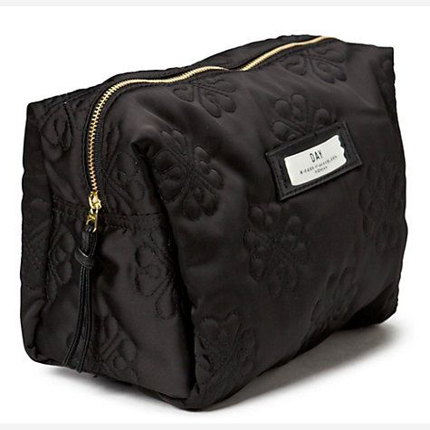 Buy Et DAY Birger et Mikkelsen Gweneth Sign Beauty Bag, Black Online at johnlewis.com