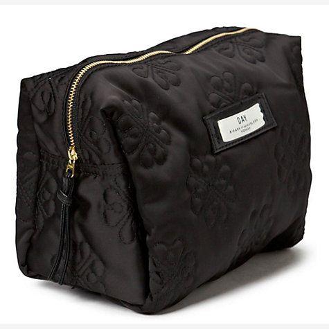 Buy Et DAY Birger et Mikkelsen Gweneth Sign Beauty Bag, Black Online at johnlewis.com