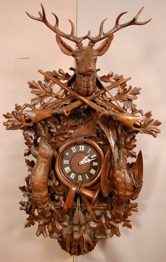 coos+coo+clocks | 191: Great Black Forest style German Coo-Coo clock.