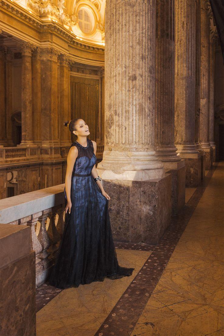 #imperocouture #abiti #cerimonia #abito #sera #dress #ceremony #cocktaildress #partydress #damigella #redcarpetdress #bridesmaid #bridesmaiddres #blu #blue #nero #black