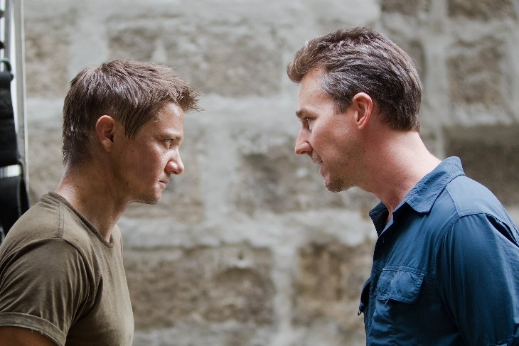 2 for 1: Renner and Norton in The Bourne Legacy