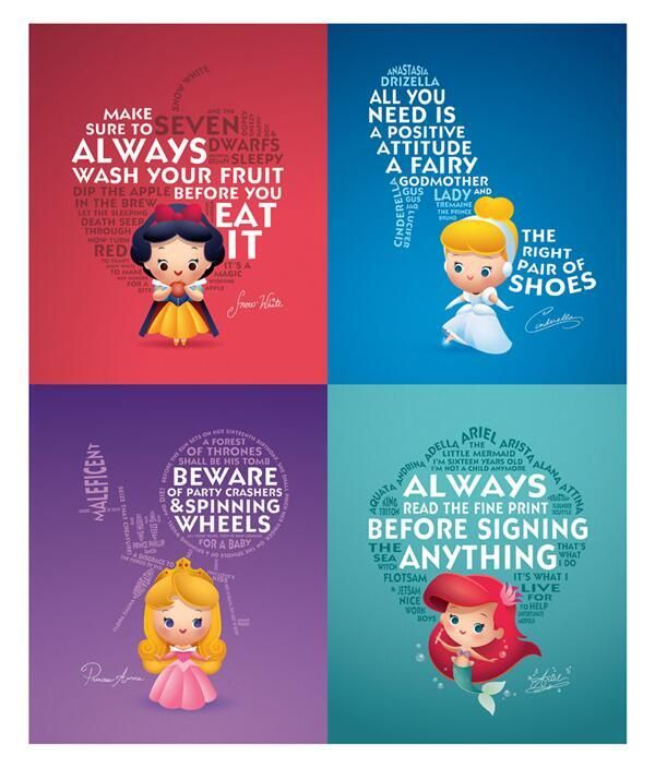 Life lessons from Disney princesses.